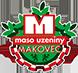Logo Makovec - maso uzeniny